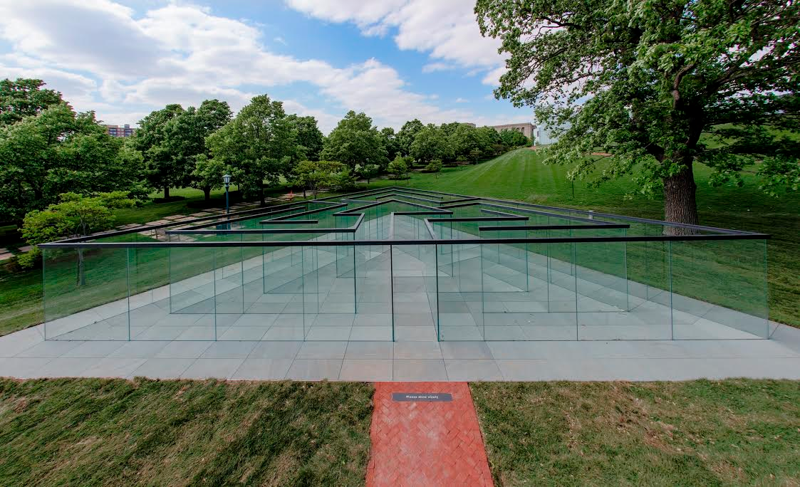 One Million Pounds of Plate Glass Went Into This Incredible Maze