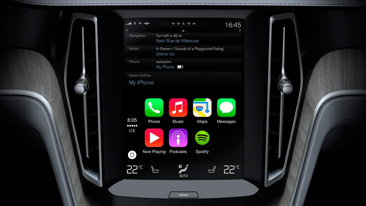 What Apple CarPlay Looks Like in Action