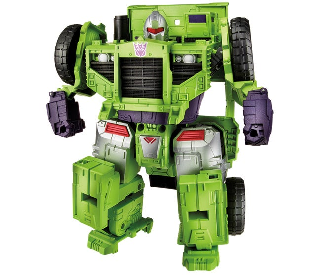 The Gigantic New Devastator Towers Over All Other Transformers