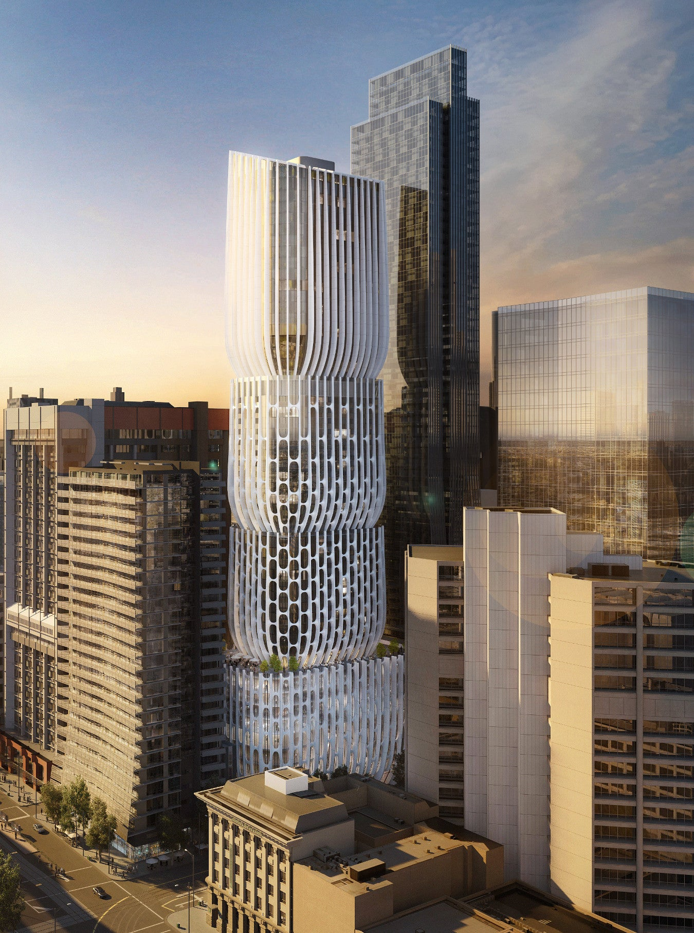 Zaha Hadid's New Skyscraper Looks Like a Big Huge Earplug