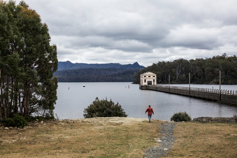 You Can Sleep In the Old Hydroelectric Plant In the Middle of This Lake