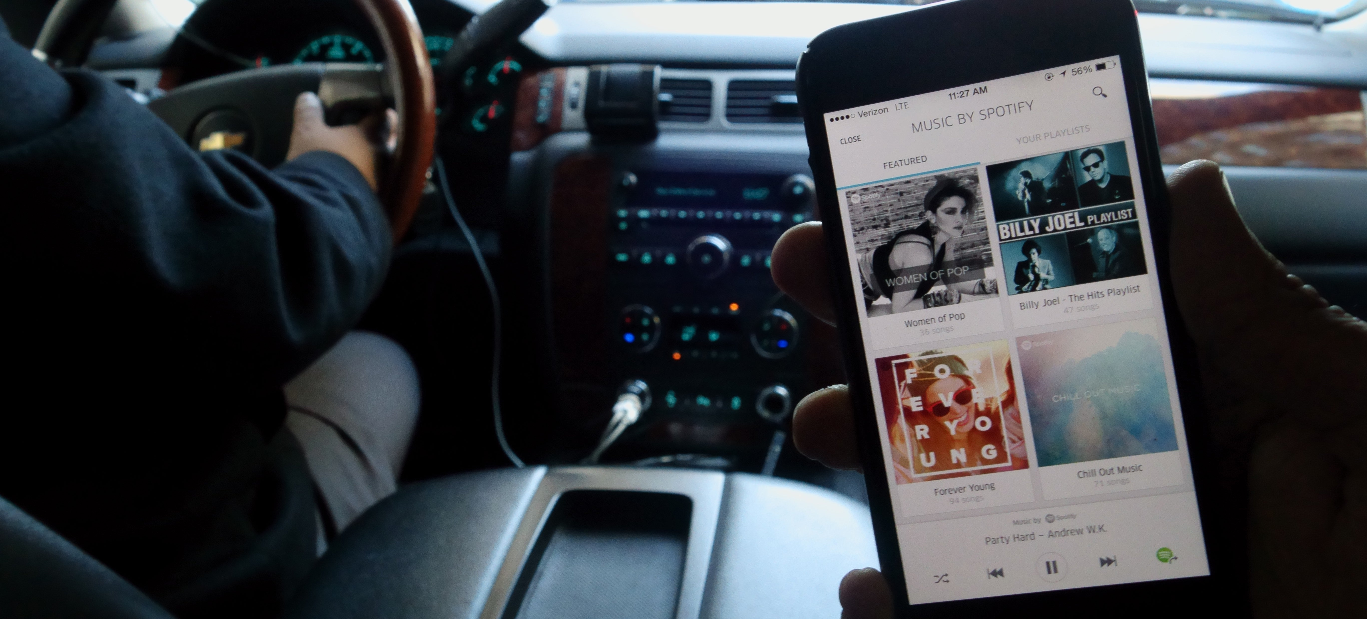 Ugh OK, Playing Your Own Music In an Uber Is Actually Pretty Neat