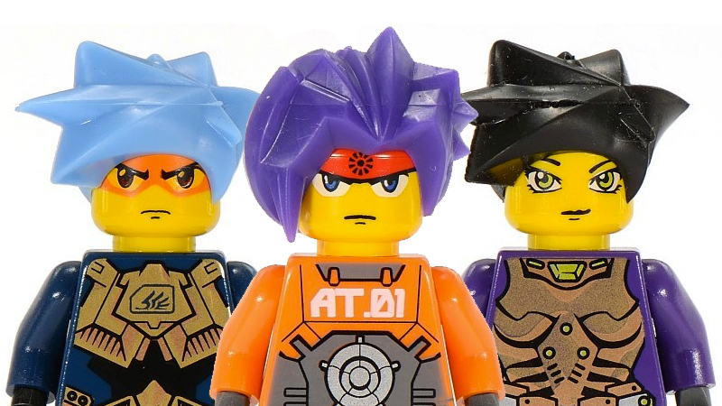 That Time LEGO Launched An Anime-Inspired Universe
