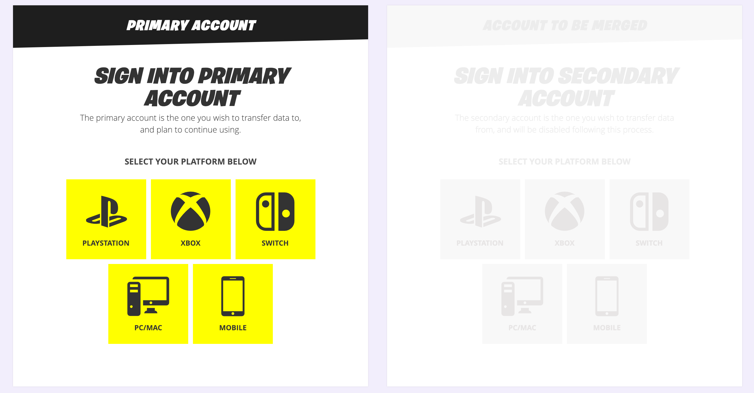 How To Merge Your Fortnite Accounts On PS4, Xbox One And
