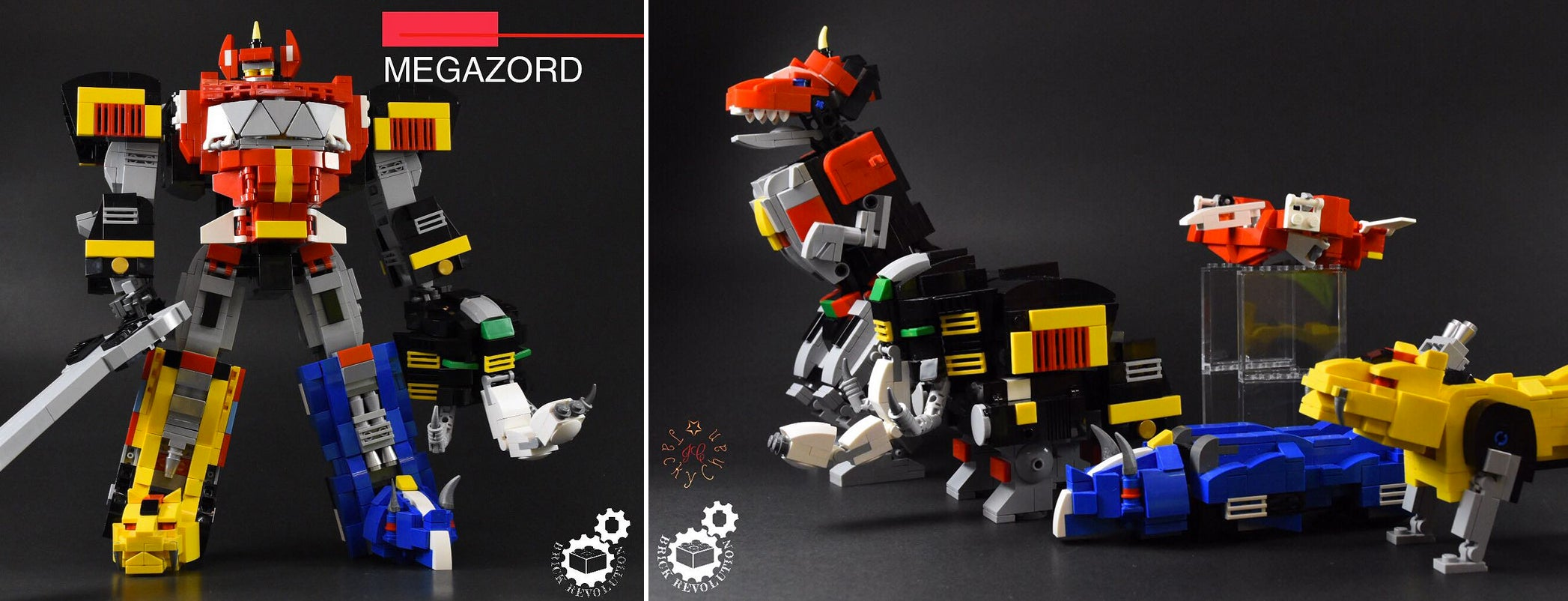 Every '90s Kid Will Want This Transforming Power Rangers Megazord LEGO Set