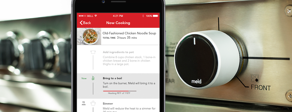 Meld Does Automatic Temperature Control For All Your Cooking