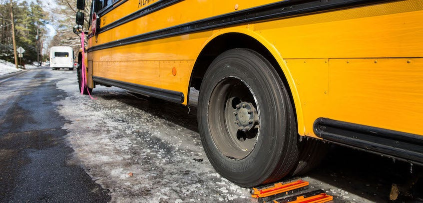 The Wheels on the Bus Go Round and Round, Even When the CIA Accidentally Leaves Explosives Onboard