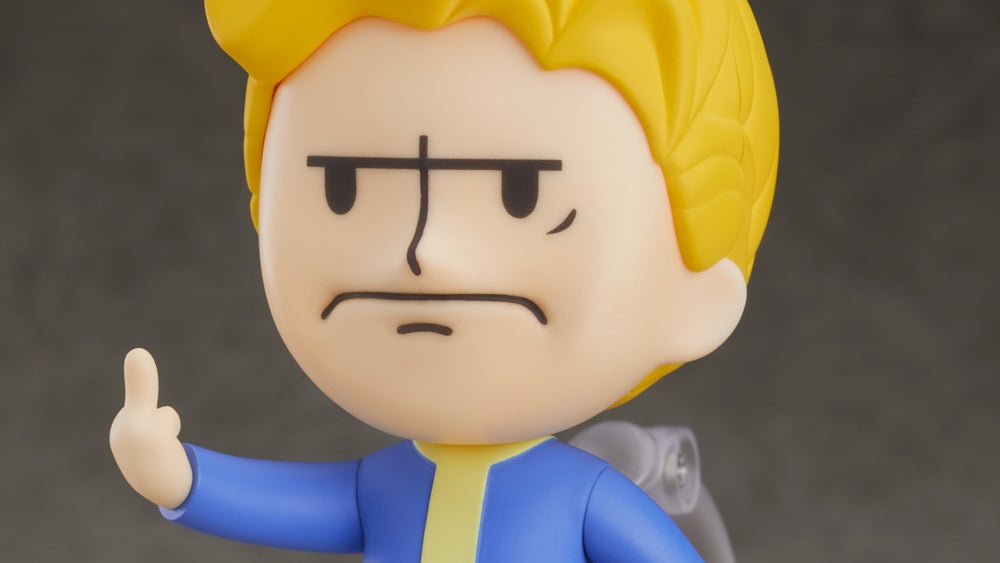This Fallout Vault Boy Figure Is A Whole Mood