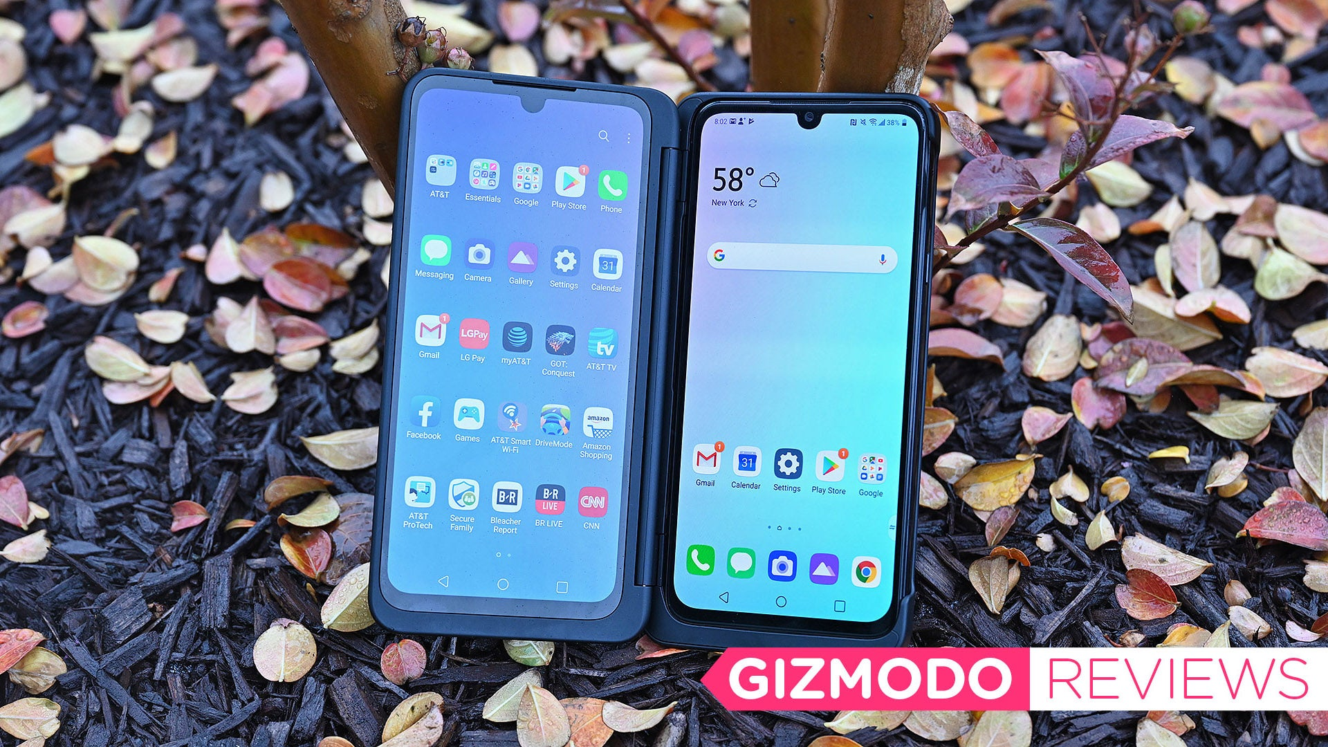 LG's G8X Dual Screen Phone Gives You The Most Screen For Your Money