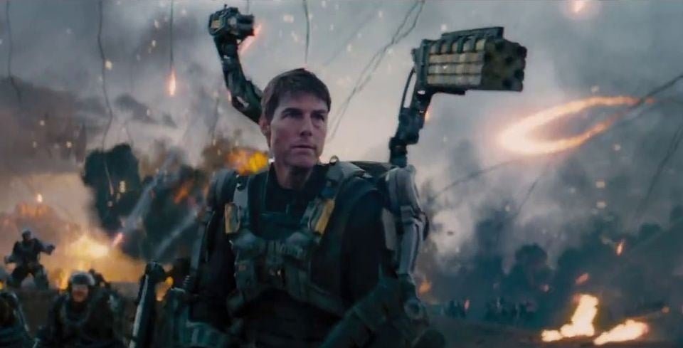 Wearing the Suit from Edge of Tomorrow Would Basically Kill You