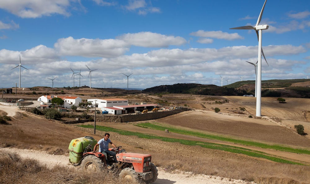 Portugal Just Powered Itself Exclusively On Renewable Energy For Four Whole Days