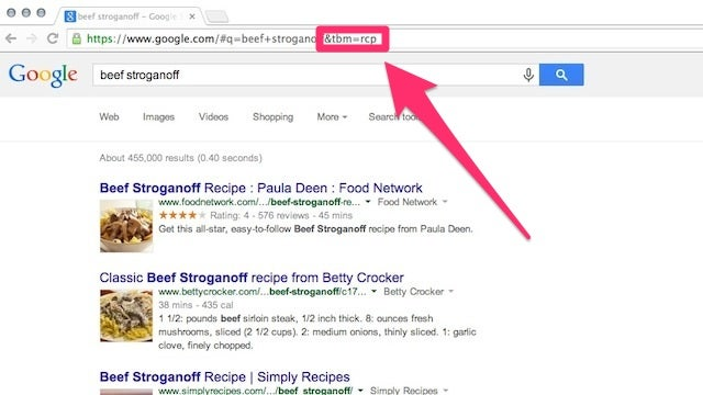 Bring Back Forum, Recipe, Local, and More to Google Search