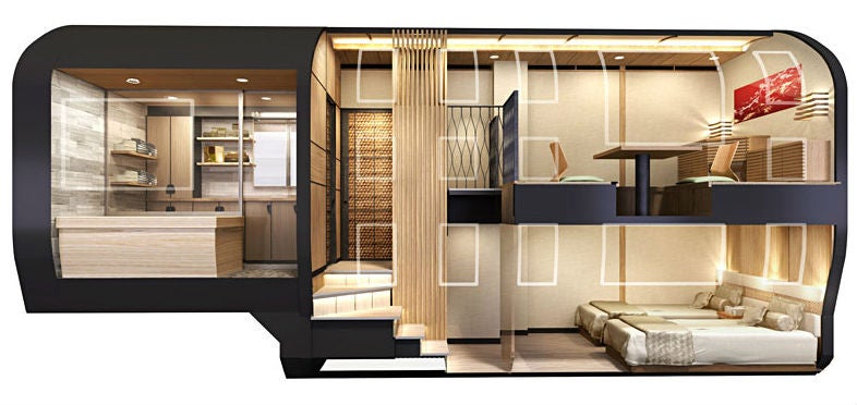 These Japanese Ultra-Luxury Trains Are Penthouses on Rails