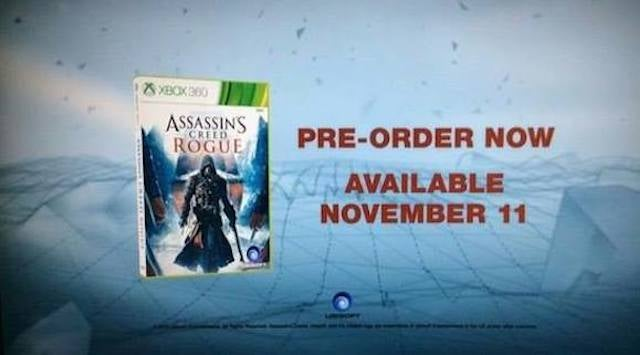 Leak Shows Off Rogue, This Year's Last-Gen Assassin's Creed (UPDATE)