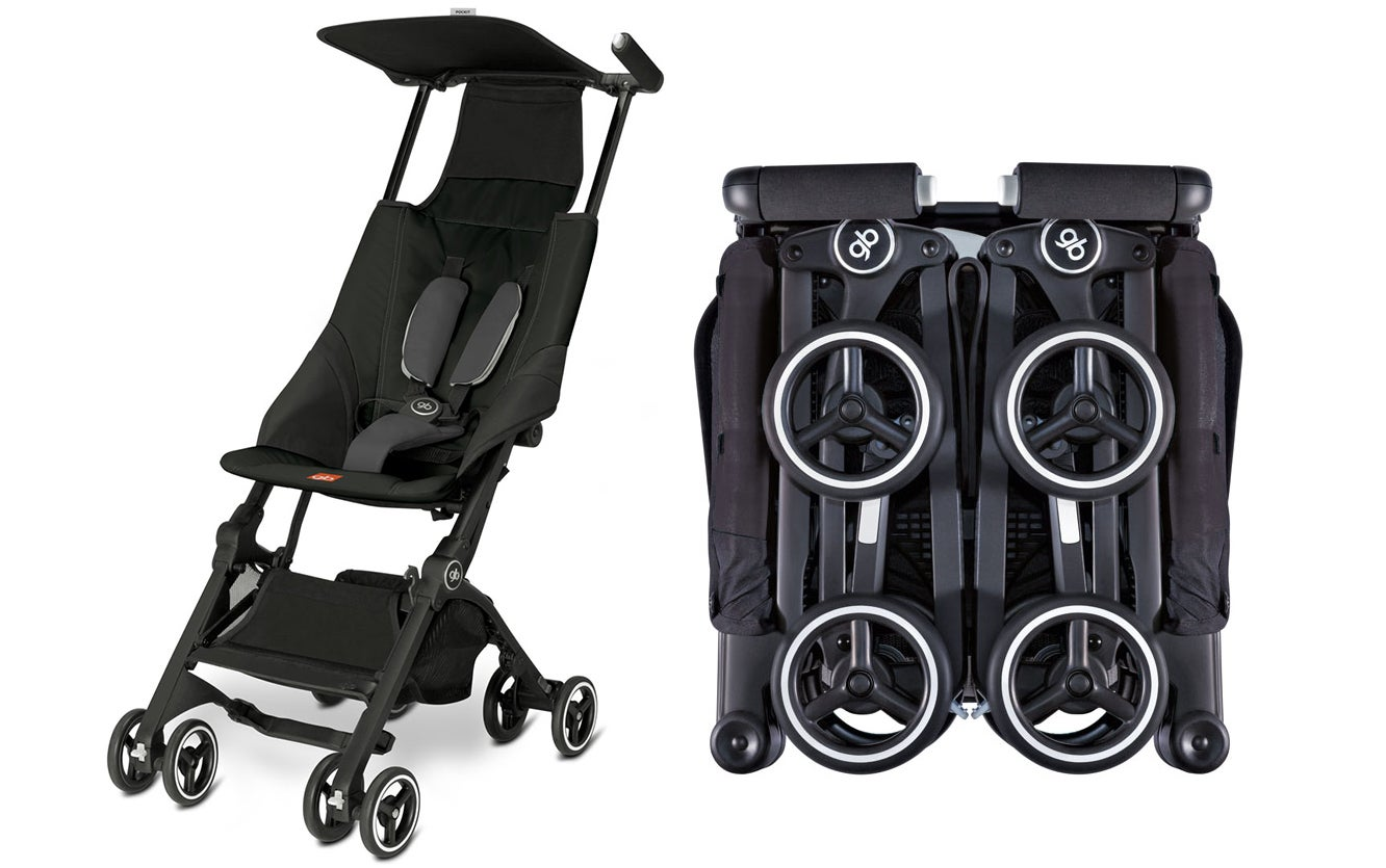 you can squeeze the world s most compact folding stroller into a