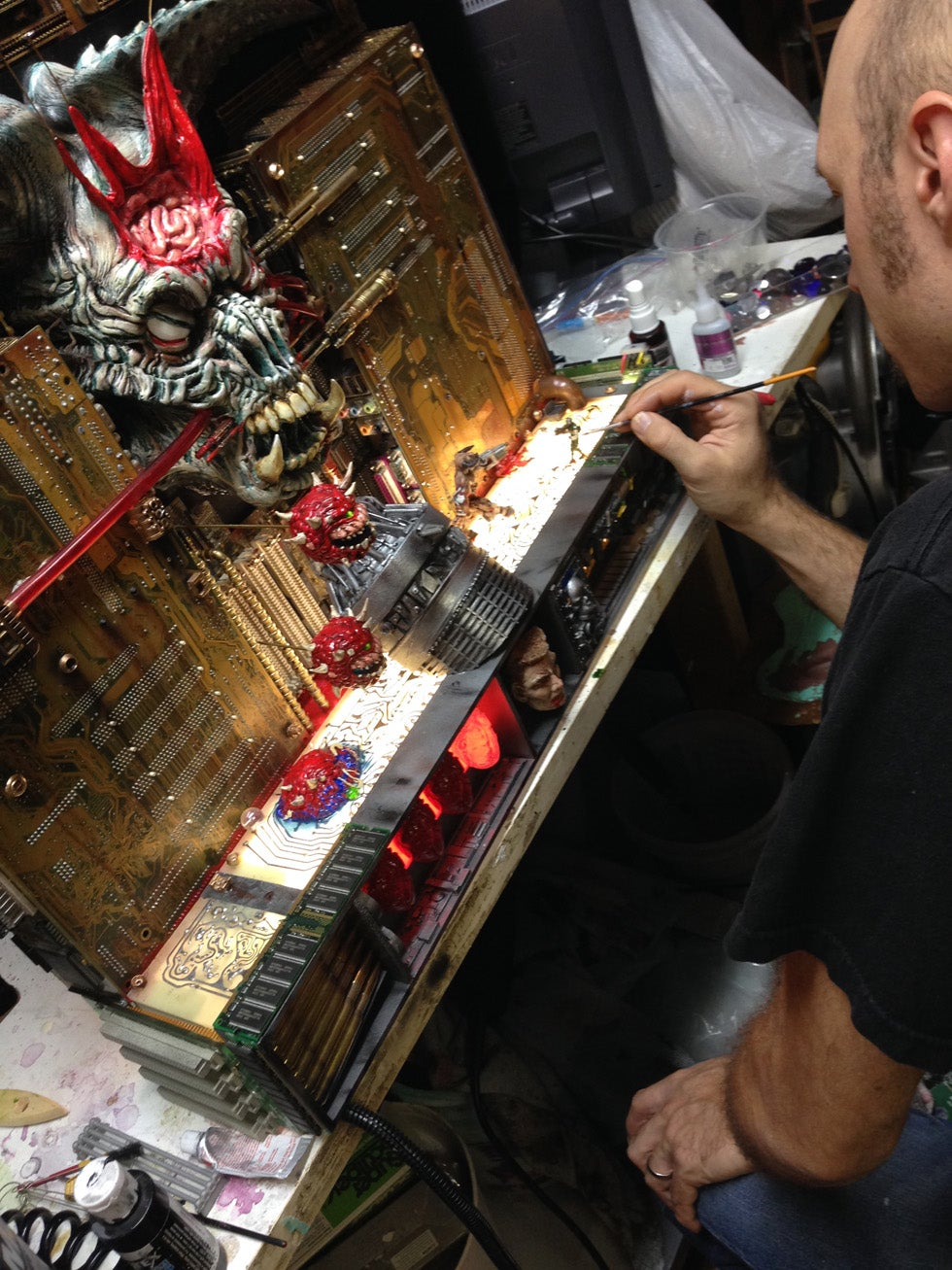 Shut Up And Take My Money >> Artist Turns Doom II's Final Level Into $6000 Sculpture ...