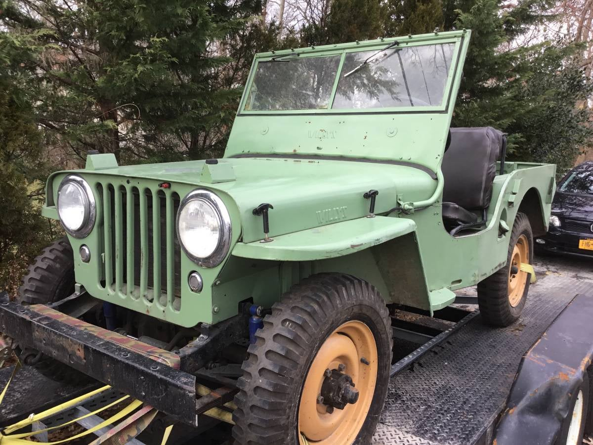 This 'One Owner' 1946 Farm Jeep Has A Fascinating And Mysterious History