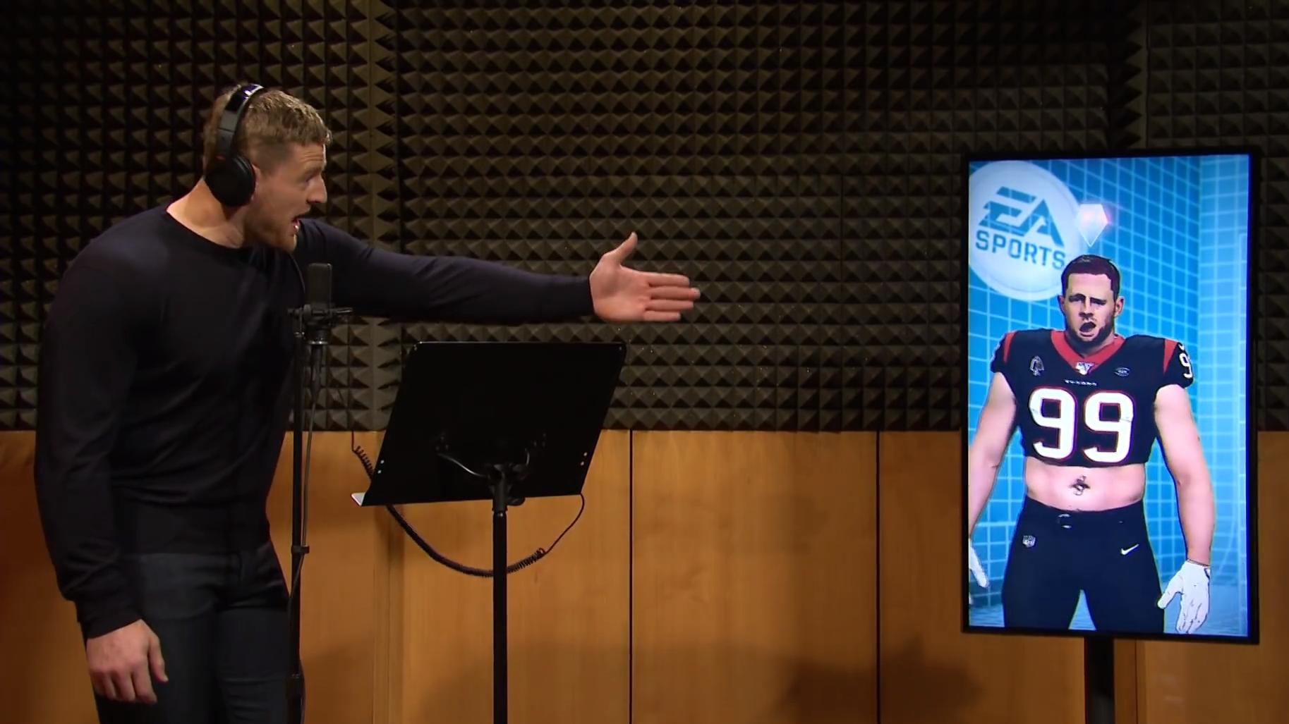 J.J. Watt Isn't Happy With Madden 21 Developers In This SNL Skit