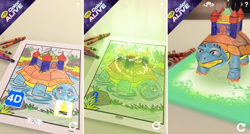Crayola's New Colouring Books Bring Your Creations To Life With an App