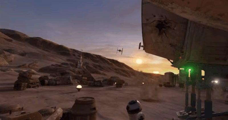 Star Wars Comes To Valve's Virtual Reality Headset