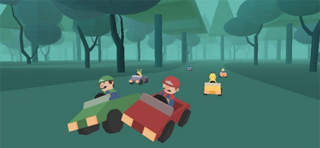Mario Kart Tribute Comes To The PC, Only It's Kinda Bleak