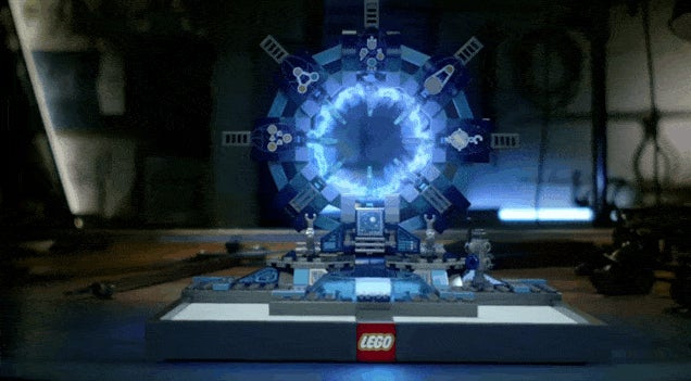 Doc Brown Comes Back To The Future To Hype LEGO Dimensions