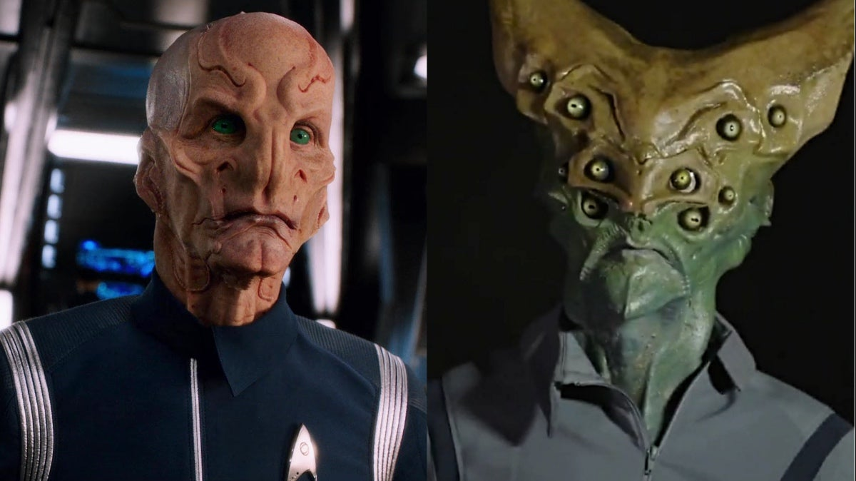 Feast Your Eyes On Star Trek: Discovery's Saru Original Design