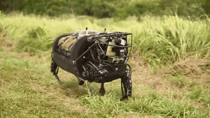 RIP BigDog, Darpa's Robotic Pack Mule