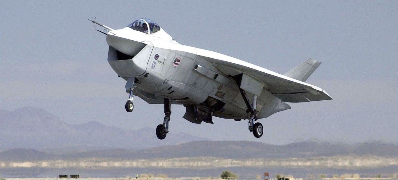 The Fighter Jet We Could Have Built Instead of the F-35