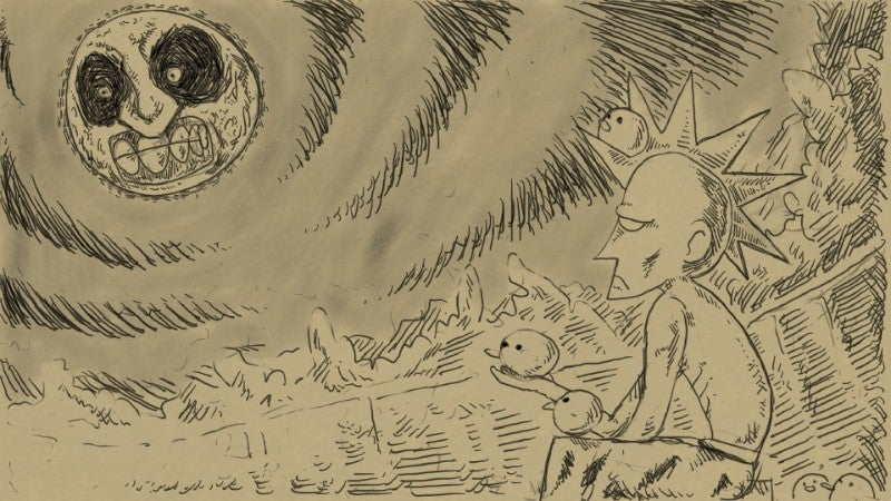 Miiverse Is Full Of Great Majora's Mask Fan Art