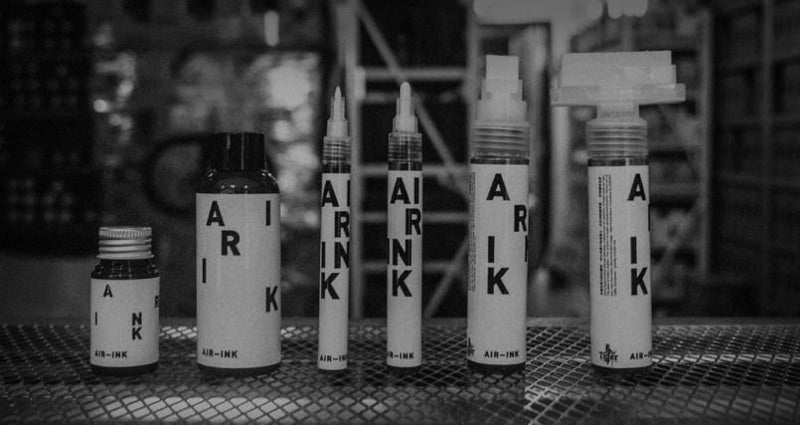 This Ink For Artists Is Made From Air Pollution