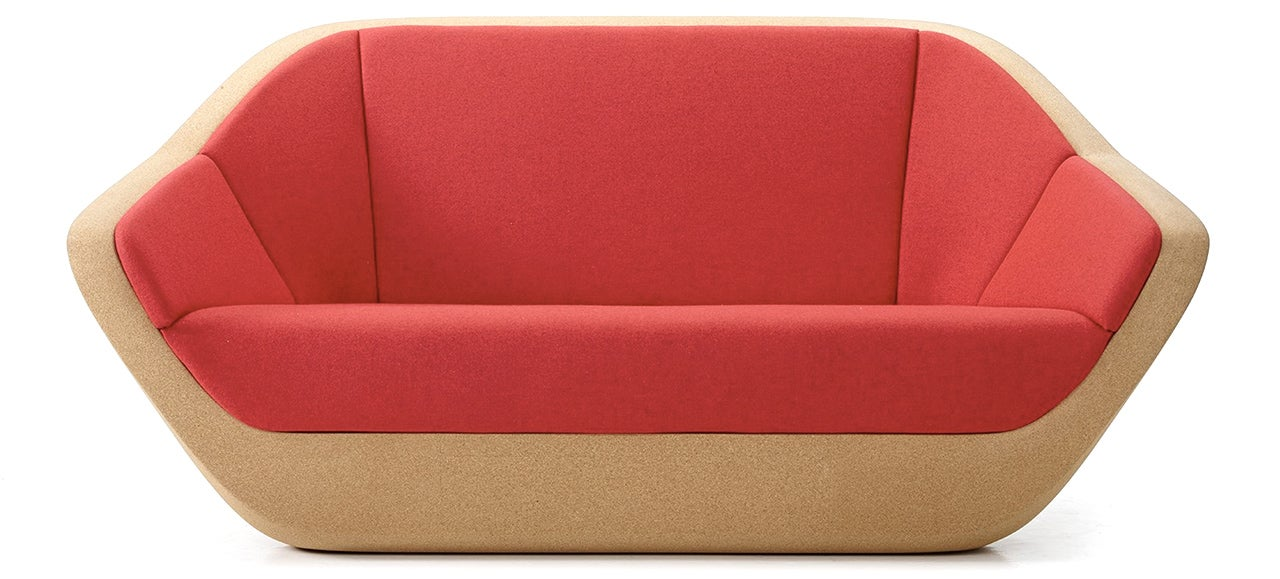 A Lightweight Cork Sofa Means You'll Never Hire a Mover Again