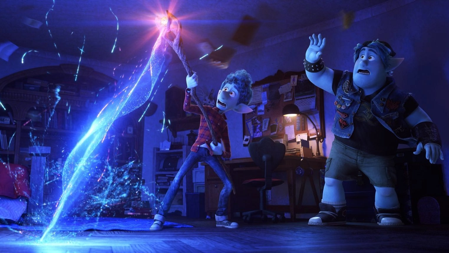 We Saw 8 Minutes Of Pixar's Onward, About Brothers Questing To Bring Their Dad Back To Life