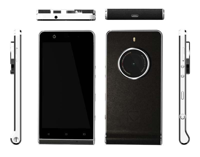 Kodak's Ridiculous New Smartphone Looks Like an Old Camera