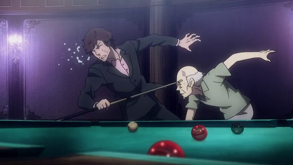 This is One Violent Game of Pool
