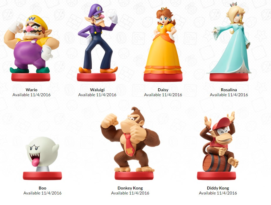 New Zelda Amiibo, Waluigi Amiibo, Boo Amiibo, All The Amiibo
