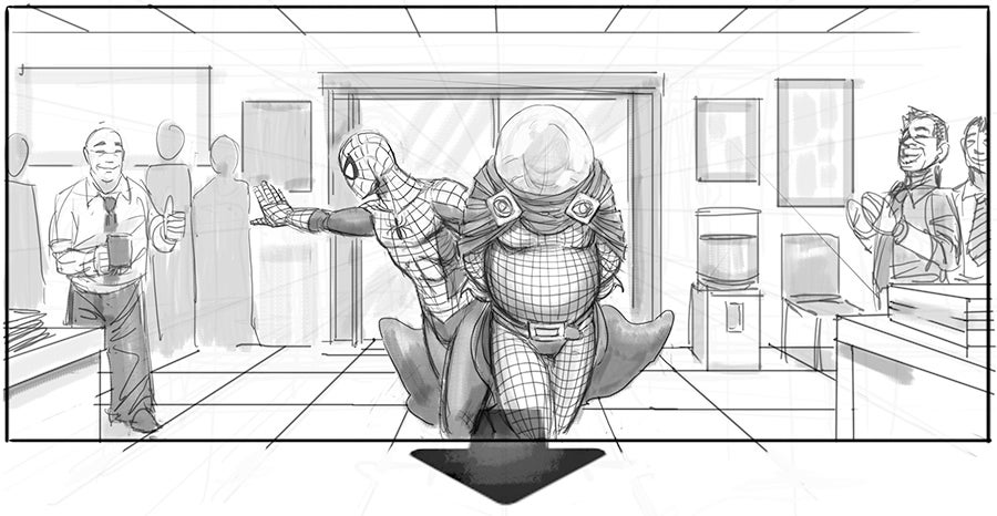 Spider-Man 4 Storyboards Reveal Iconic Villains and Huge Action That Never Was