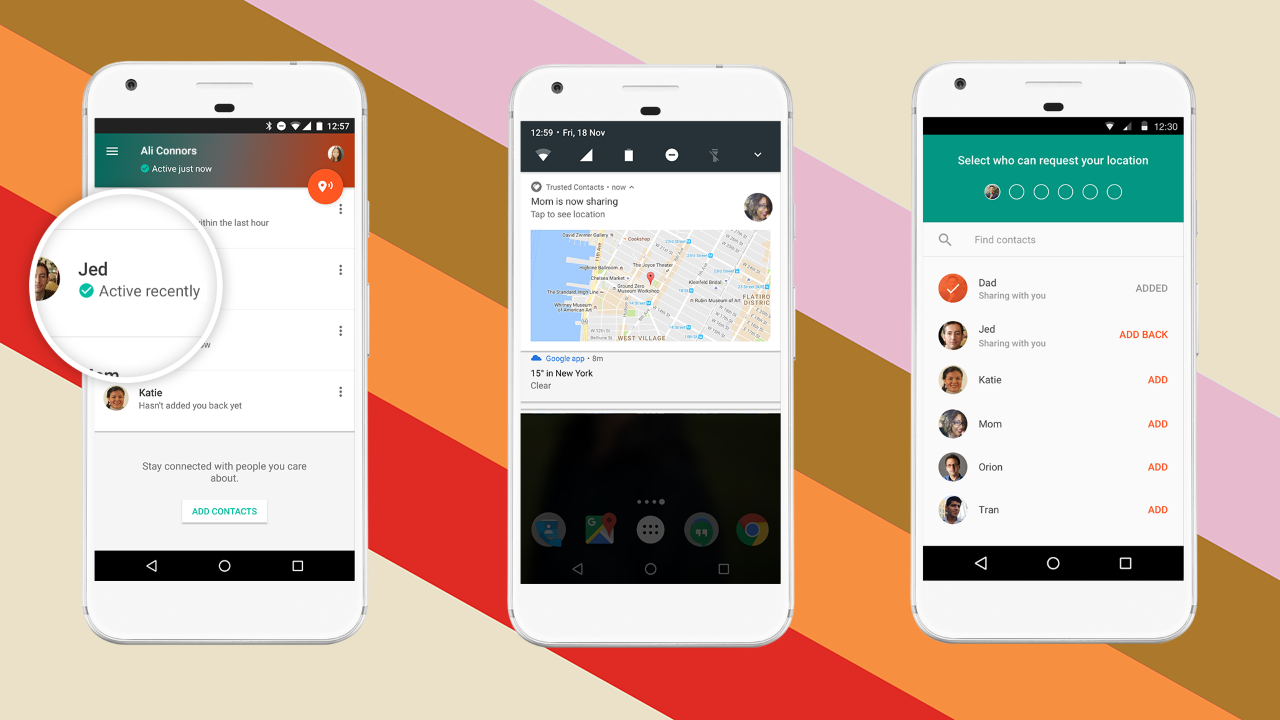Google's New Trusted Contacts Shares Your Location With Loved Ones In Real Time