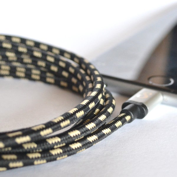 These Smartphone Cords Look Like Miniature Audio Cables