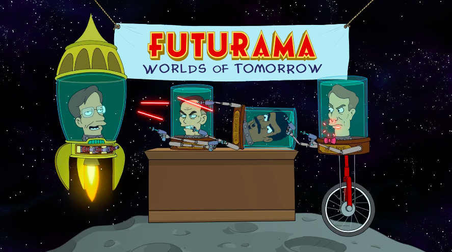 Watch George Takei, Stephen Hawking, Bill Nye And Neil DeGrasse Tyson Argue Over Who Had The Best Futurama Cameo