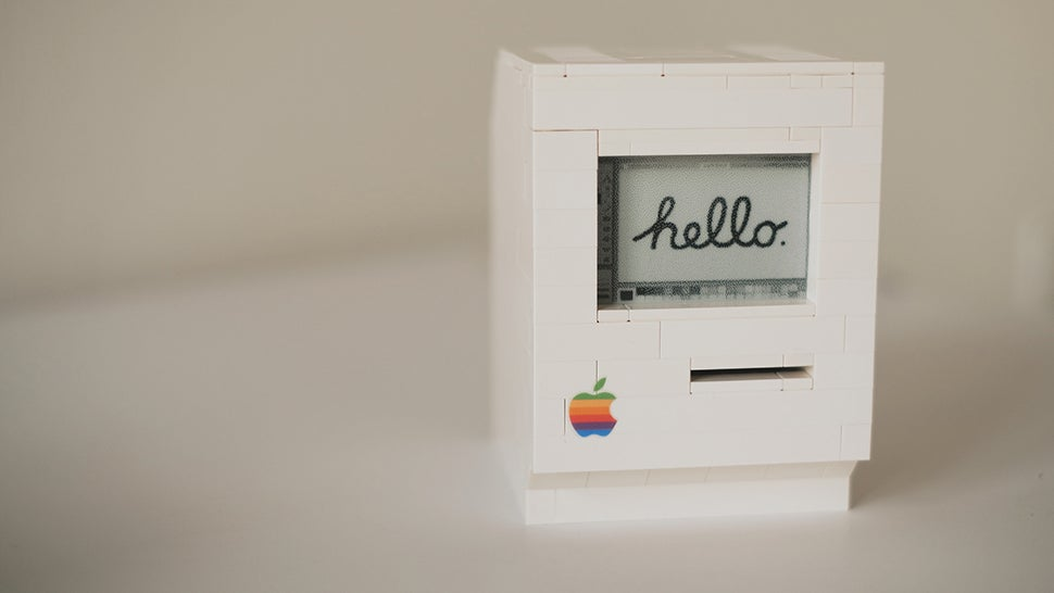 LEGO Macintosh Is A Miniature Classic That Actually Kind Of Works