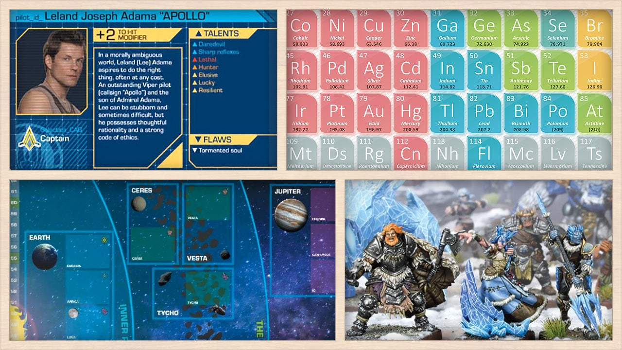 Battlestar Galactica's Game Has A Release Date, Giant Mechs Get Super Tiny, And More Tabletop News