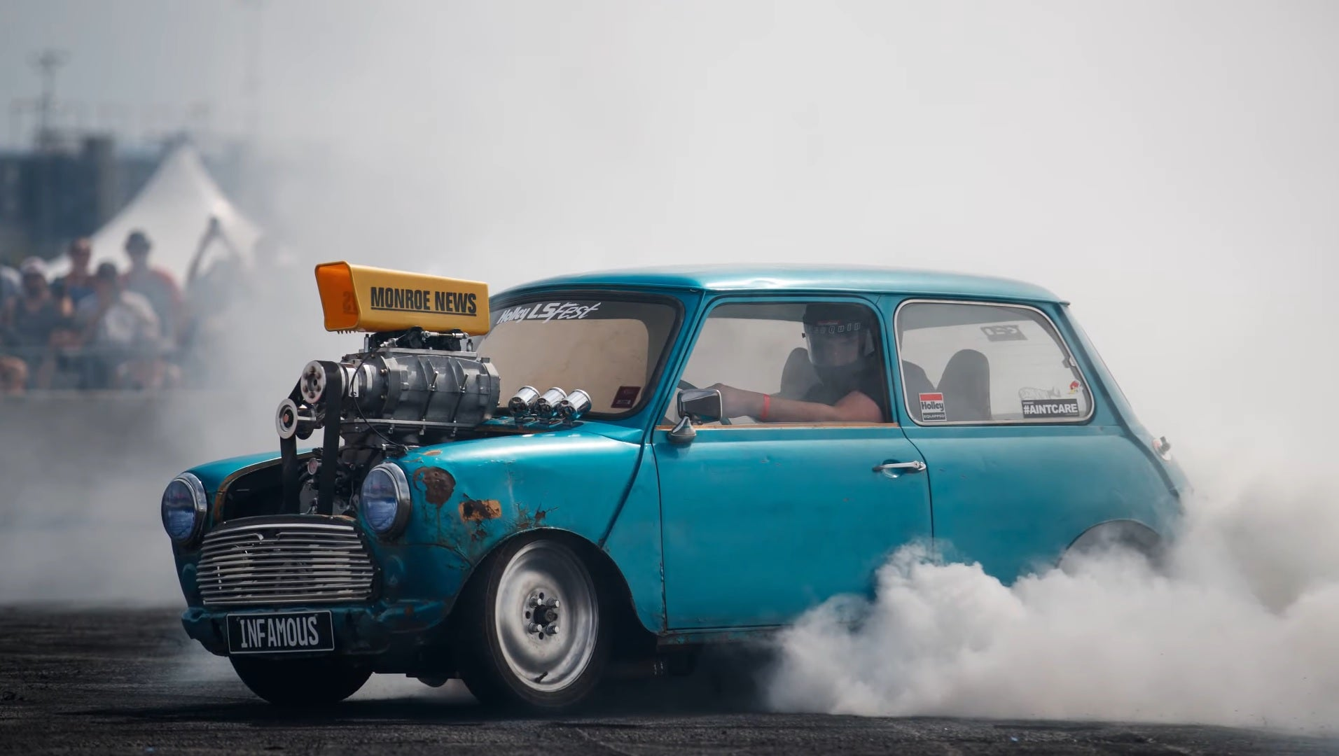 This LS-Powered Mini Is The Undisputed Champion Of Hooning