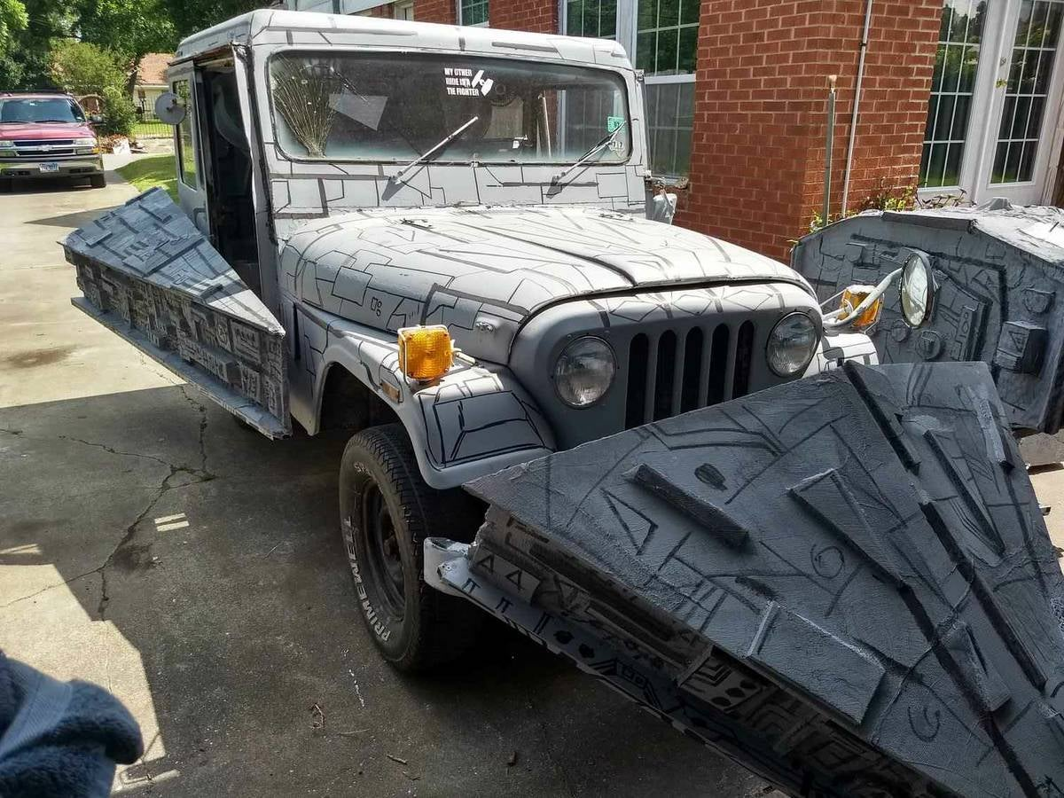 Texas Geniuses Turn Jeep Into Star Wars 'Star Destroyer'