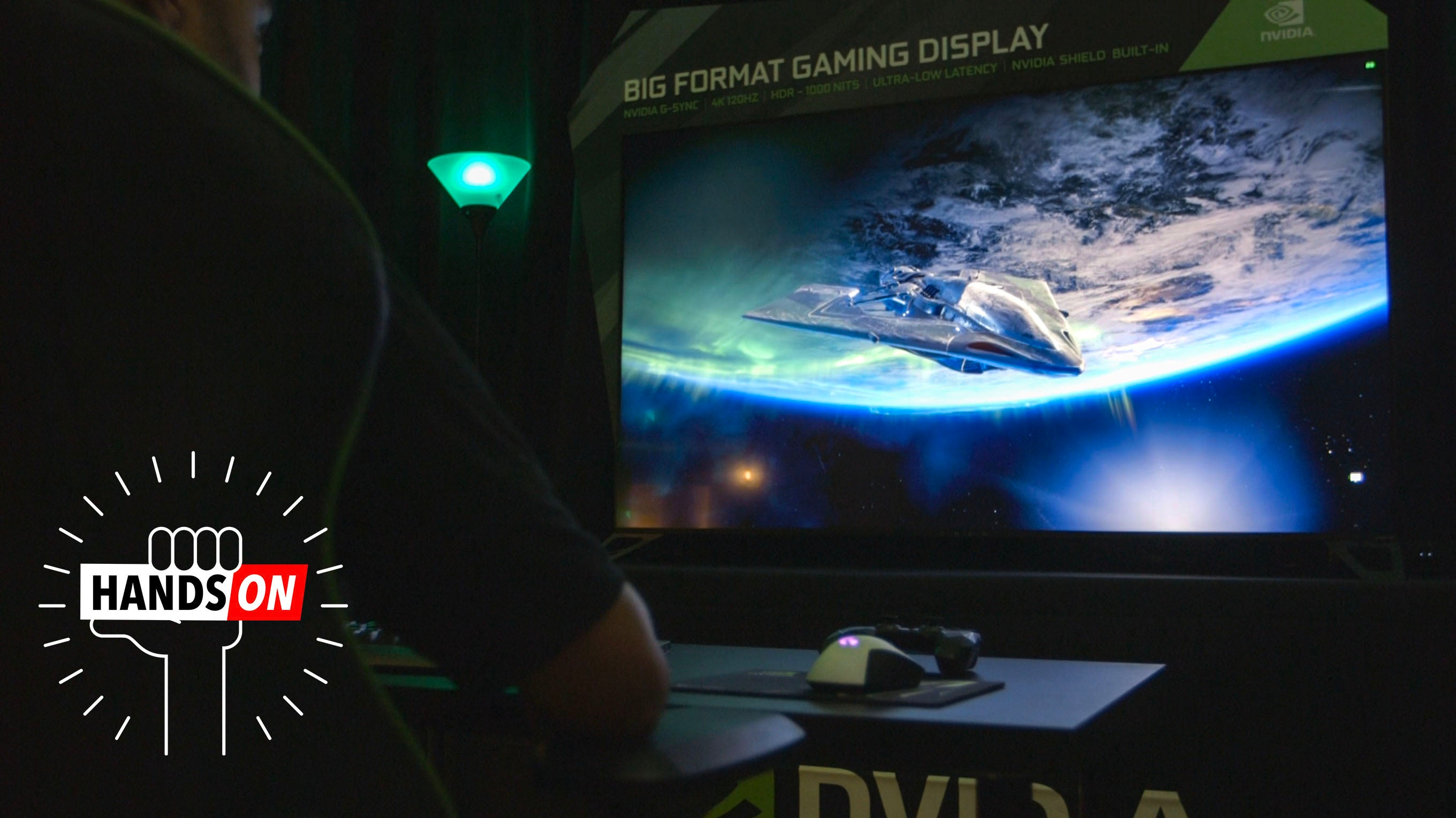 This Huge Screen Looks Like A TV, But It's Actually A Specialised Gaming Monitor