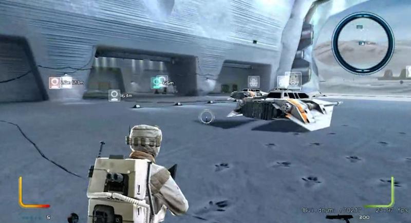 Star Wars Battlefront III Prototype Apparently Leaks