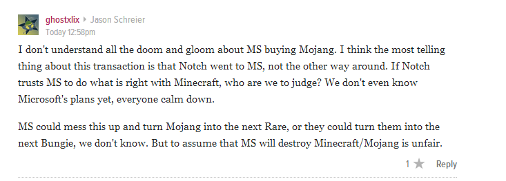 The Internet Reacts To Microsoft Buying Minecraft