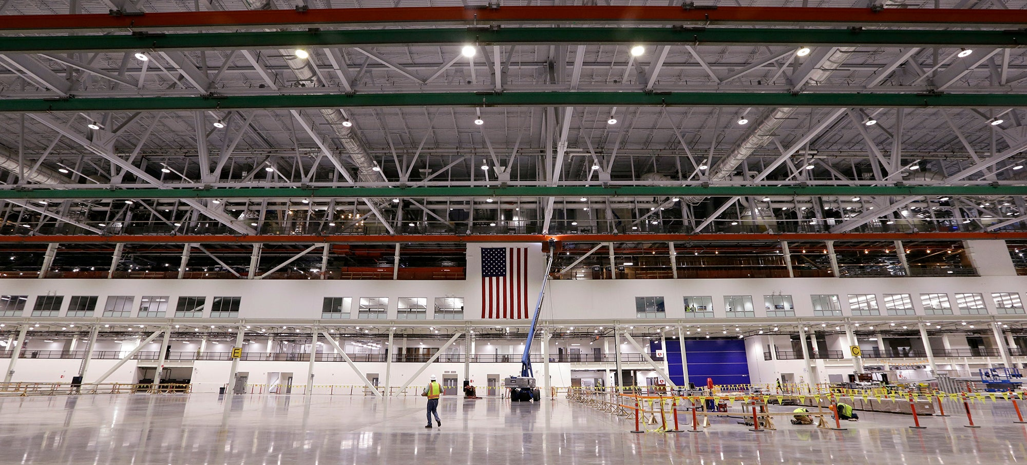 Inside the Workshop You Need to Build the World's Largest Composite Wings