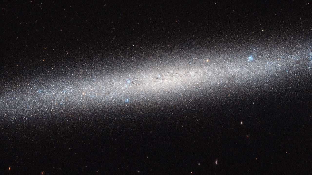 Hubble Gives Us A Wide-Angle View Of An Entire Galaxy
