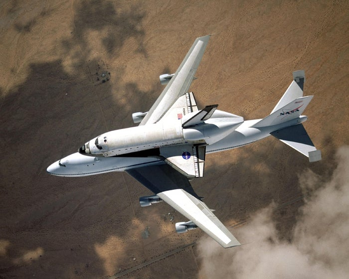 Goodbye space shuttle carrier — and thank you for being awesome